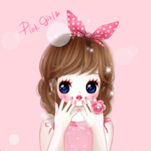 CUKI Themes Cute Pink holic