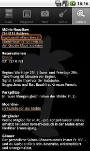 Mühle Hunziken- screenshot thumbnail