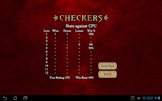 Screenshot of Checkers Free