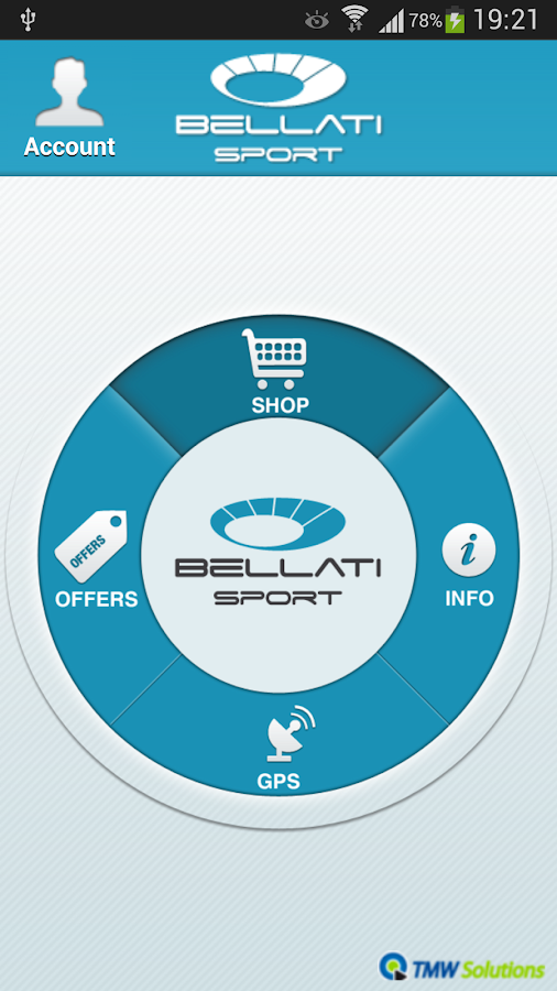 Bellatisport- screenshot