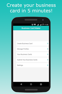 Business card maker apps on google play screenshot image reheart