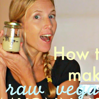 Raw vegan Mayonnaise