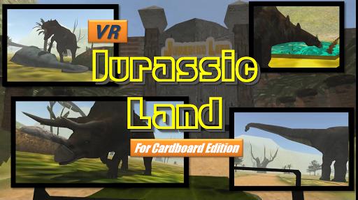 VR Jurassic Land cardboard