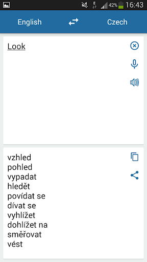 Czech English Translator