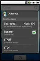 Screenshot of Multi ticket recall+contact