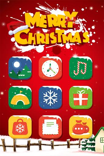Christmas Hola Launcher Theme
