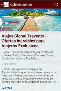 Viajes Global Travents screenshot 0