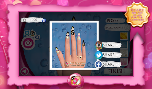 Nail Manicure Games For Girls 9.1 screenshots 8