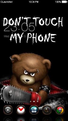 '別碰我手機'手機主題——暢遊桌面