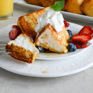 Angel Food French Toast.