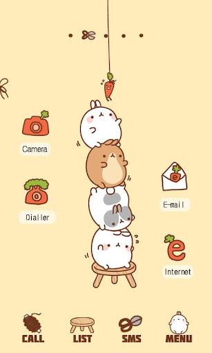 CUKI Theme Carrot Molang