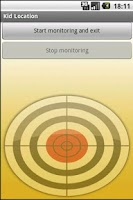 Screenshot of Kid-Location GPS-Tracking