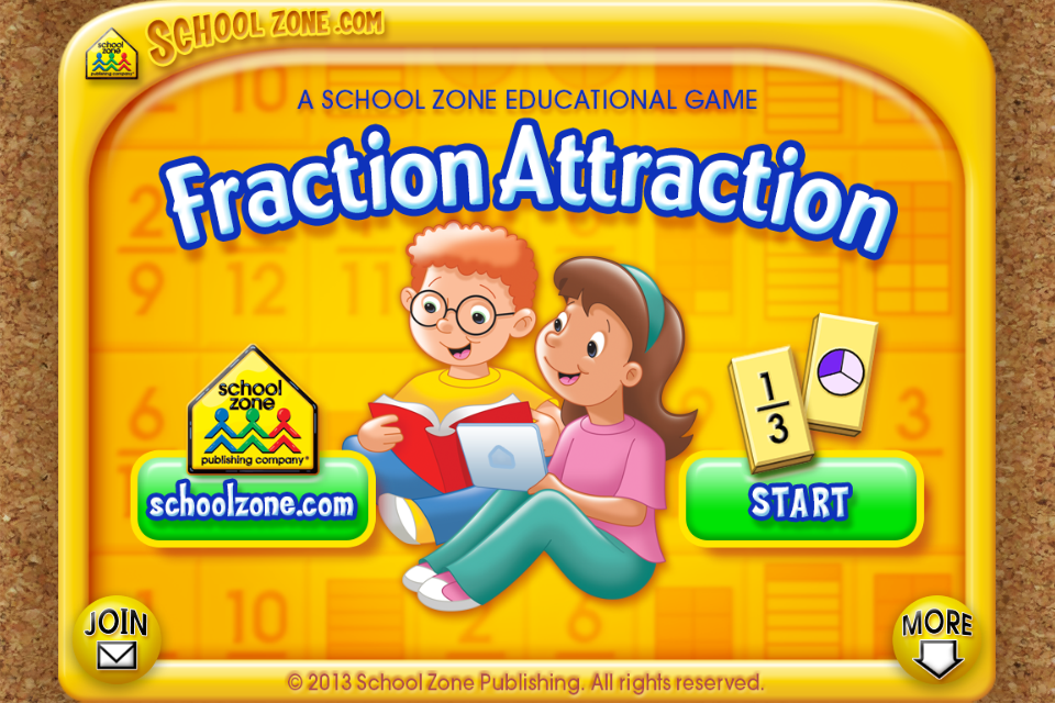 Fraction Attraction- screenshot