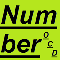 Number OCD icon