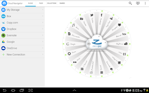 ZeroPC Cloud Navigator- screenshot thumbnail