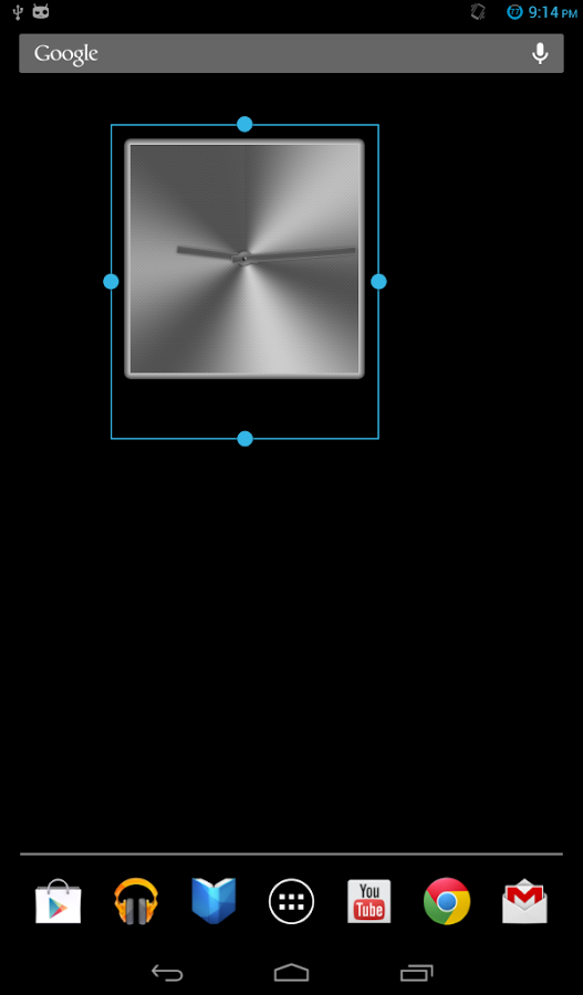 The NEW Metal Clock PRO (FREE)- screenshot