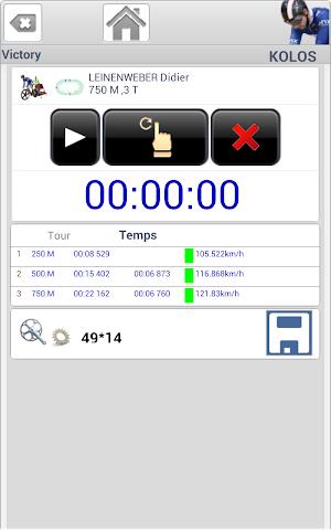 Screenshots for Track Cycling