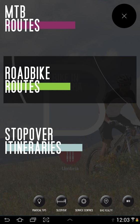 Bike in Umbria Eng HD- screenshot