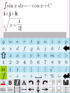 Equation Editor- screenshot thumbnail