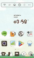 Screenshot of CartoonPlay LINE LauncherTheme