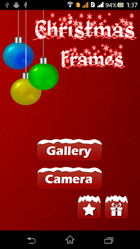 Christmas Frames Photo Editor