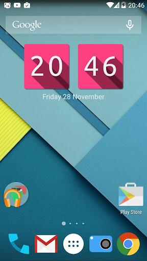 Lumos Clock Widget