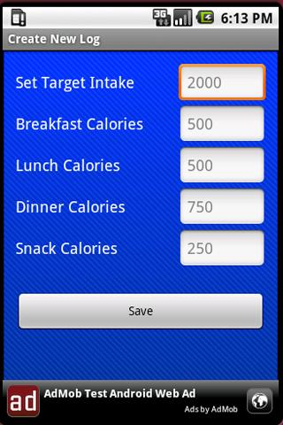Calorie Tracker: Stay On Track - screenshot