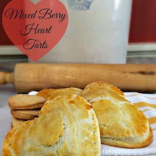 Mixed Berry Heart Tarts