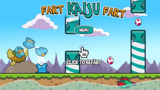 Fart Kaiju Fart -The adventure