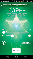 Screenshot of 639 Hz Solfeggio Meditation
