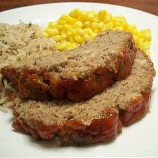 Eileen's Meatloaf.