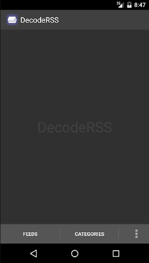DecodeRSS RSS Reader