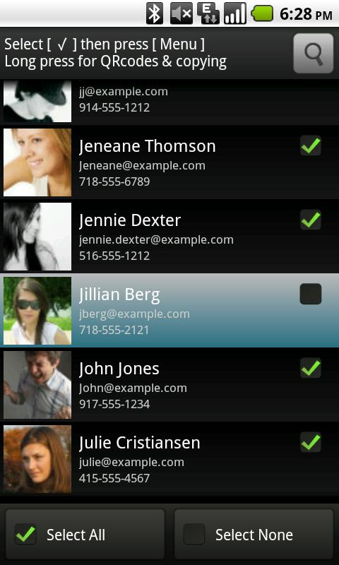 Listables- screenshot