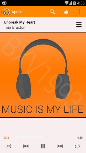 Apollo Theme: PLay Music Light