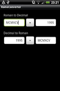 Roman Numeral Converter- screenshot thumbnail