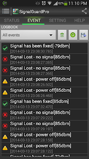 Signal Guard Pro Screenshot