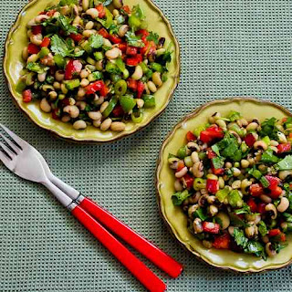 Black-Eyed Pea Salad with Peppers, Cilantro, and Cumin-Lime Vinaigrette
