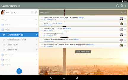 Wunderlist: To-Do List & Tasks Screenshot 2