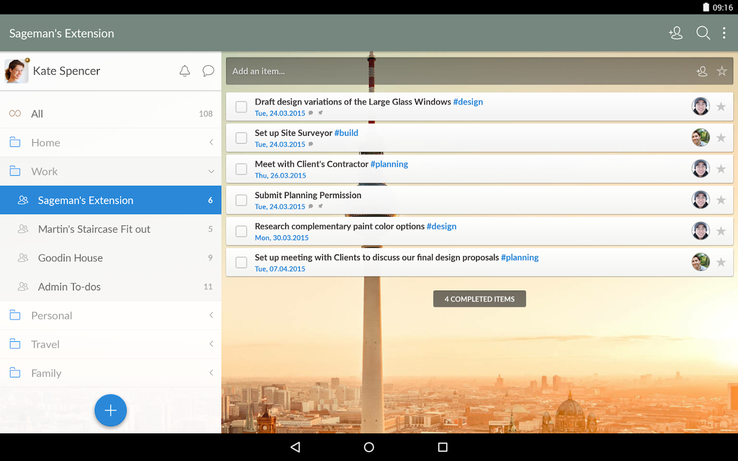 Wunderlist: To-Do List & Tasks - screenshot