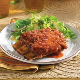Easy Succulent Saucy Spareribs Recipe