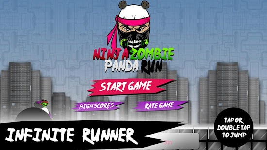Ninja Zombie Panda Run- screenshot thumbnail