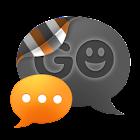 GO SMS THEME - Smooth Orange icon