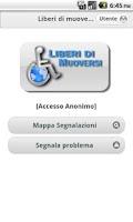 Screenshot of Liberi di muoversi