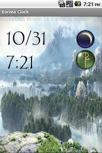 Eorzea Clock - screenshot thumbnail