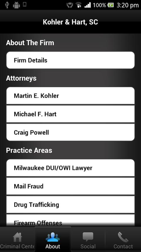 Wisconsin Criminal Defense Law- screenshot