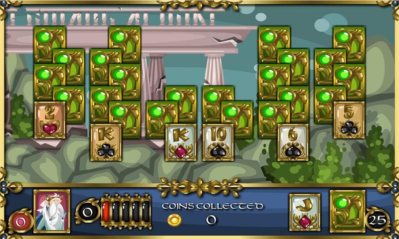 Solitaire Adventure - screenshot