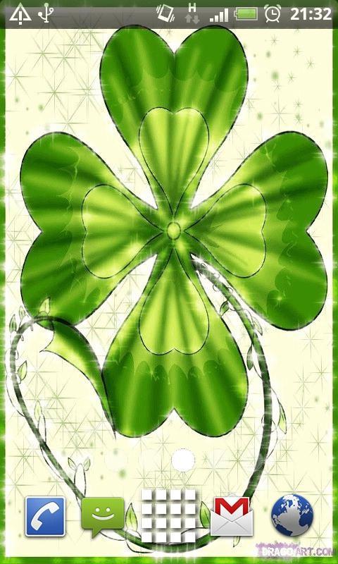 green clover wallpaper - photo #23