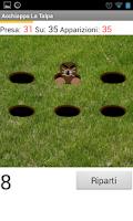 Screenshot of Hit the Mole