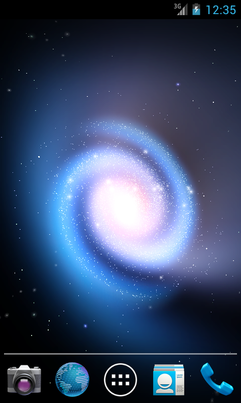 Cosmic Glow LWP (Free) - screenshot