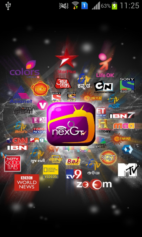 nexGTv - Mobile TV Live TV - screenshot